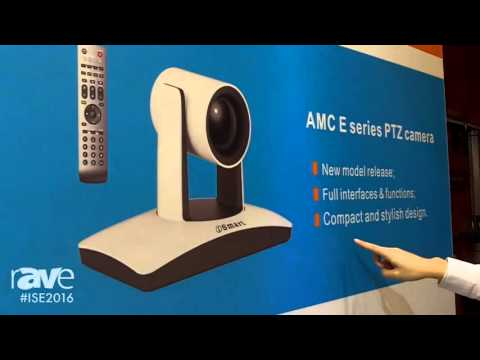ISE 2016: iSmart Video Details AMC-E200 HD Robotic PTZ Camera