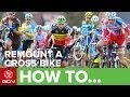 Cyclocross - Remount Like A Pro - How To Carry Your Cyclocross Bike And Get Back On