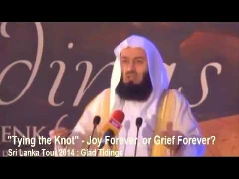 Tying The Knot ~ Mufti Ismail Menk ~ New Sri Lanka 2014!!