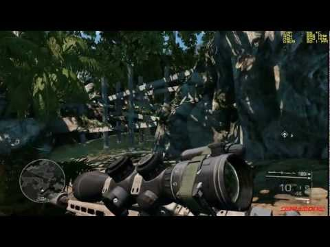 SNIPER GHOST WARRIOR 2 -Special Edition- Gameplay PC FPS Counter on AMD HD6770M (PARTE 1)