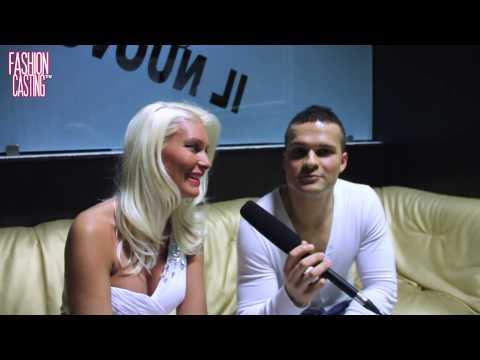 Andy Milo intervista Brigitta Bulgari - Look of the year 2014 - Fashion Casting TV