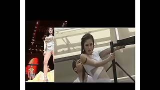 Kim Chui Experiences Wardrobe Malfunction While Performing