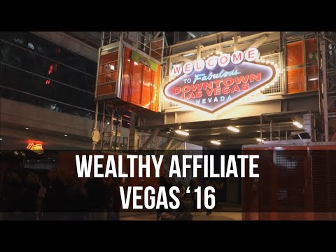 Wealthy Affiliate Conference - SAC Las Vegas 2016