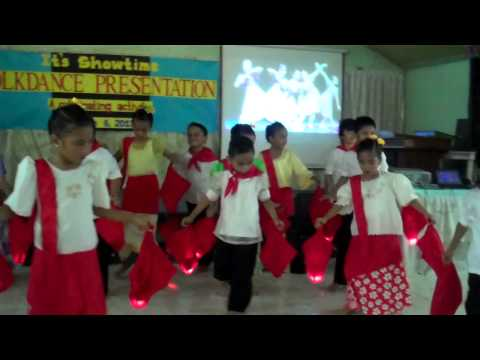 Imis Folk Dance Presentation 2013 ~pandanggo Oasiwas video