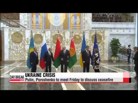 Russia, Ukraine to meet on Friday to discuss ceasefire   러시아-우크라이나 정상 17일 회동...