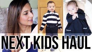 HUGE NEXT KIDS CLOTHING HAUL - BABY GIRL & TODDLER BOY SPRING SUMMER CLOTHES | Ysis Lorenna