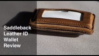 Saddleback Leather ID Wallet Review