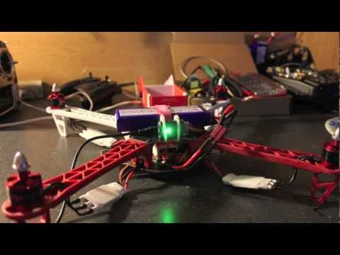 DJI Flamewheel 450 w/NAZA Build