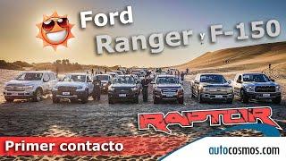 Ford Ranger Raptor, F150 y F150 Raptor: Primer contacto en Argentina