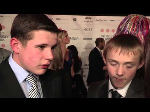 Shaun Thomas & Connor Chapman - The Selfish Giant - BIFA Most Promising Newcomer Award Nominees
