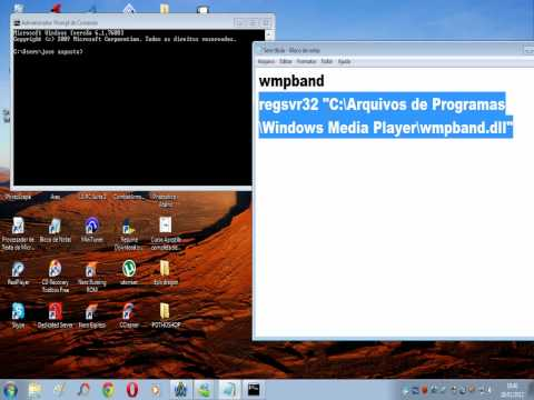 Colocar Windows Media Player na barra de tarefas do win 7