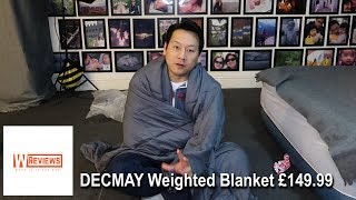DECMAY Weighted Blanket Premium grade Gravity Blanket review