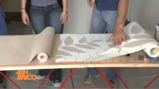 play pose de kit film adh sif d co sur une porte dint rieur. Black Bedroom Furniture Sets. Home Design Ideas