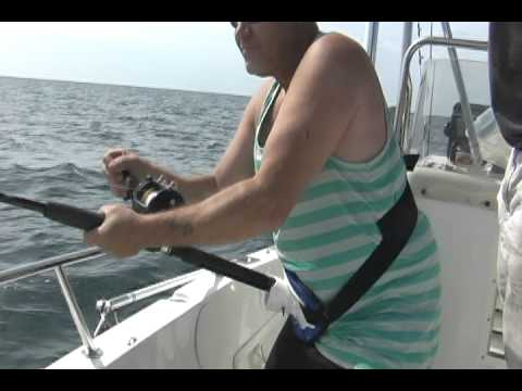 Monster Ledge Shark Fishing,  New Jersey, June 23, 2012