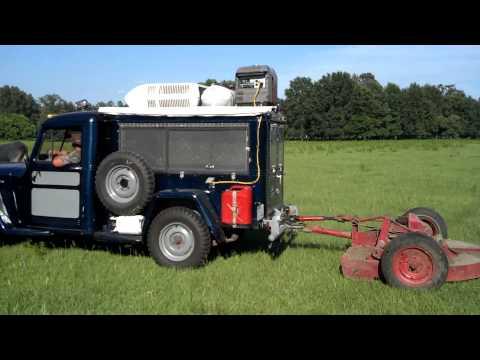Ultimate Redneck Camper Truck