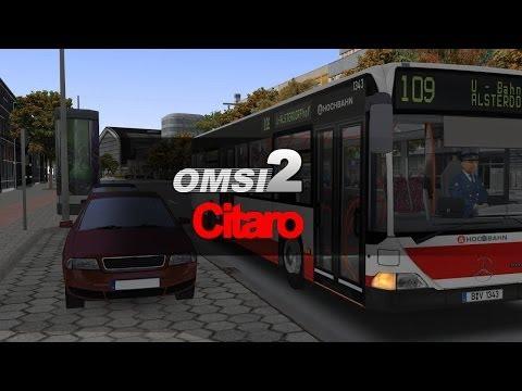 OMSI 2 - Citaro in Hamburg - OMSI Bus Simulator Test-Serie