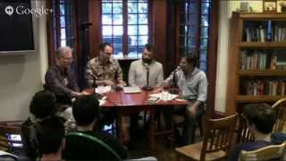 Cid Corman Panel Discussion 9/16/2014