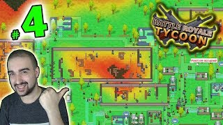 BIG ARENA BATTLES! - Battle Royale Tycoon Gameplay #4 - Walkthrough PC