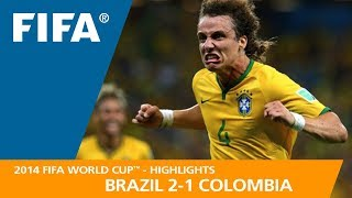 BRAZIL v COLOMBIA (2:1) - 2014 FIFA World Cup™