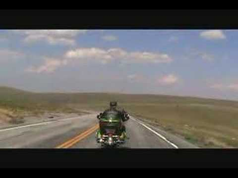 Motorcycle Ride Beartooth Pass Wyoming Montana