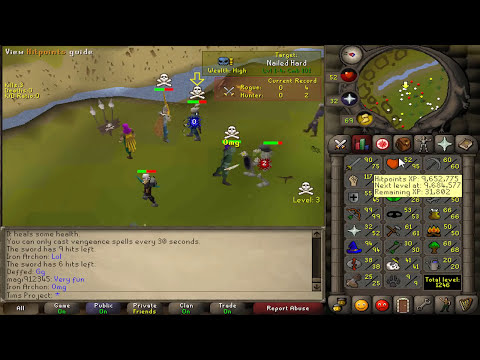 Runescape - Sparc Mac's Epic Adv #14 - Pking, Ammy of Damned & More!