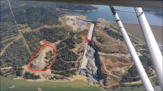 "Oroville Update 9 May Construction Fly Over ""One Last Spill?"""