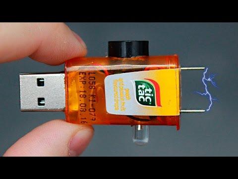 Как сделать самодельный мини USB тестер/How to make a mini USB tester