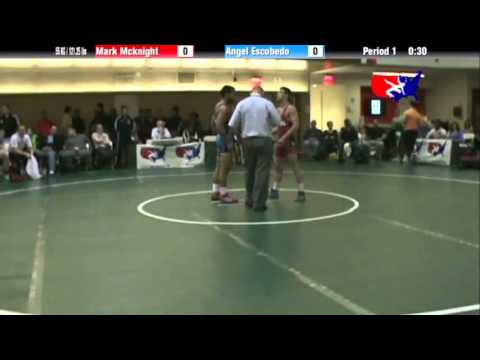 FS 55 KG - CSF - Mark McKnight (NLWC) vs. Angel Escobedo (NYAC)