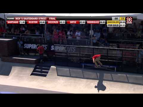 X Games Los Angeles 2012: Sheckler's Silver