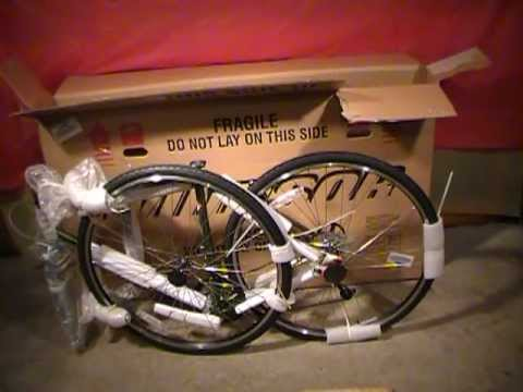 Bikes Direct Unboxing Bikes Direct Windsor Tourist