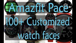 Amazfit - 100+ customized watch faces | how to download and install customized watch face for amzfit