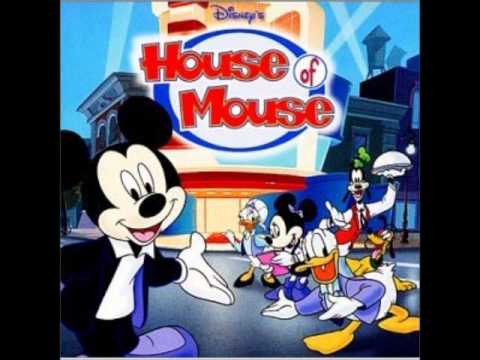 Misc Cartoons - Mickey Mouse - Clubhouse Theme