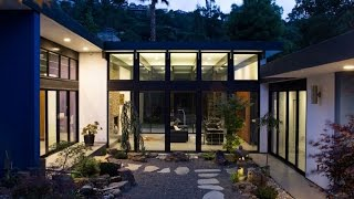 Modern Atrium House -  Remodeling House From Usual House become Energy Efficient and Modern House