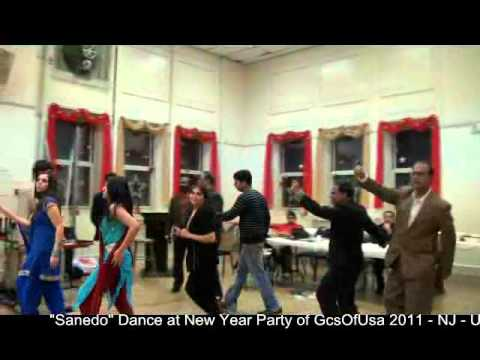 Sanedo Dance at New Year Party of Gcsofusa - 2011