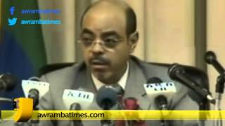 PM Meles Zenawi responding to critics of Gibe3 project