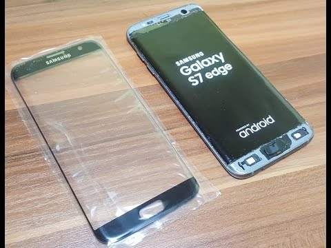 Galaxy S7 Edge Glass Only Replacement - FULL GUIDE (success)