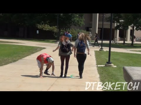 Drop n Go Prank @ NEIU ft. Brian Cordero and CaucAsian Bros