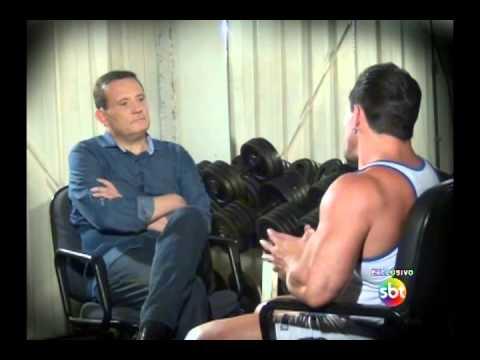 Cabrini entrevista o fisiculturista Fernando Sardinha