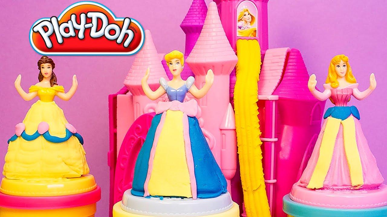 Disney Princess Play Doh Castle Play Doh Prettiest Princess