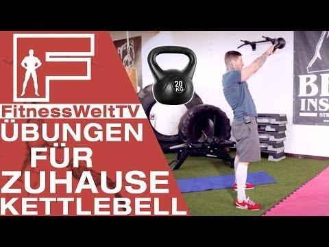 Training Zuhause: Kettlebell #Jochen Image 1