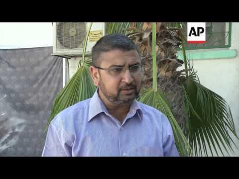 Hamas spokesman on death of Israeli soldier and strike near UN school