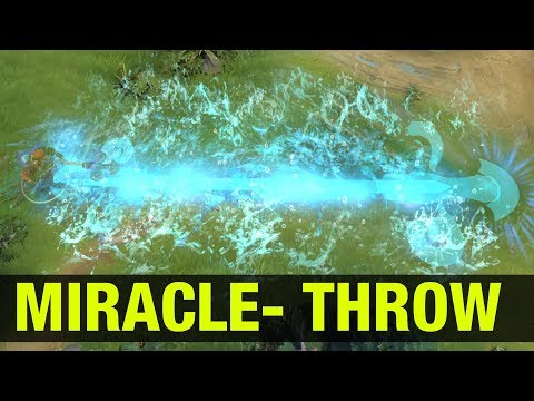 MIRACLE- THROWS THE GAME - Dota 2