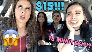 Download Lagu SISTER VS SISTER $15 OUTFIT CHALLENGE IN 15 MINUTES?!?!!?! Gratis STAFABAND