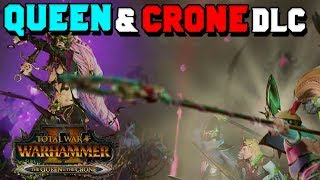 The Queen & The Crone DLC Trailer & Lore Breakdown + ALITH ANAR  Total War: Warhammer 2