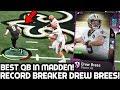RECORD BREAKER DREW BREES BEST QB IN MADDEN Madden 19 Ultimate Team mp3