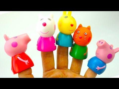 Сюрпризы Свинка Пеппа, игрушки из мультика