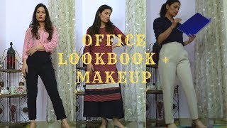 MAKEUP AND LOOKBOOK FOR OFFICE || LOOK FRESH AND PRESENTABLE IN OFFICE || PRIYANKA LEGHA