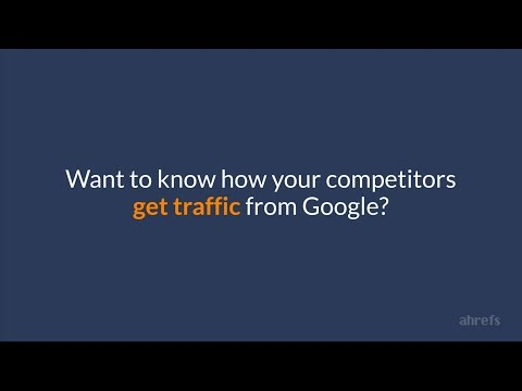 How to Get More Search Traffic From Google: Learn From Your Competitors' Top Pages