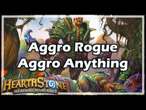[Hearthstone] Aggro Rogue, Aggro Anything