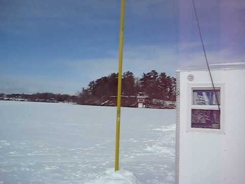 Ham Radio/Ice Fishing Adventure by WØAAA